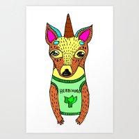 Herbivore Art Print