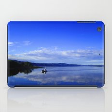 Summer in the fjord 2016 iPad Case