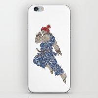 Akuma iPhone & iPod Skin