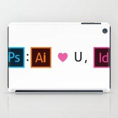 Designer's Valentine's Card iPad Case