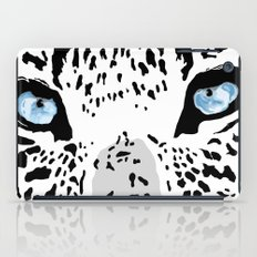 The blues; leopard. iPad Case