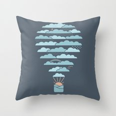 Weather Balloon Throw Pillow