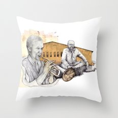musician Throw Pillow