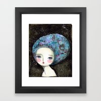 The Muse Of The Universe Framed Art Print