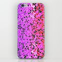 THINK LILAC CORAL iPhone & iPod Skin