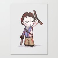 Plushie Boomstick Canvas Print