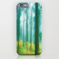 Fairy tale (Green) iPhone 6 Slim Case