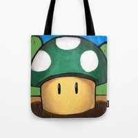 1Up Super Mario Tote Bag