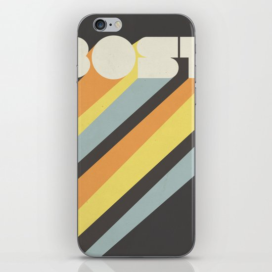 Boston : Resilient iPhone & iPod Skin