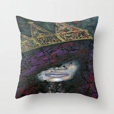Q.U.E.E.N Throw Pillow