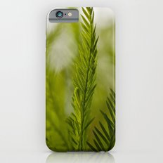 Delicate green fronds iPhone 6 Slim Case