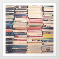 books Art Prints featuring Books  by AC Photography