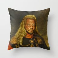 Duane 'Dog' Chapman - Re… Throw Pillow