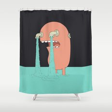 Get Over It Shower Curtain