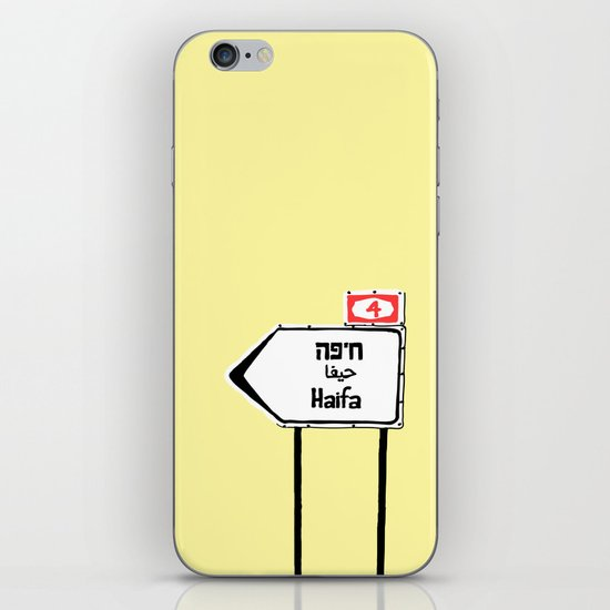Haifa This Way iPhone & iPod Skin