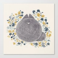 Kitch Cat Canvas Print