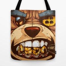 Bo: Plushy Gangsta CloseUP Tote Bag