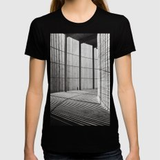 Chapel of Reconciliation - Berlin-Mitte Womens Fitted Tee Black SMALL