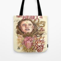 Heart is the Queen Tote Bag
