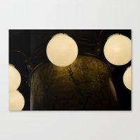 Light Marbles  Canvas Print