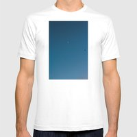 moon and seagull Mens Fitted Tee White SMALL