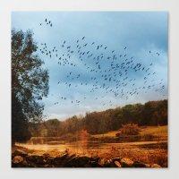 Migrations. Canvas Print