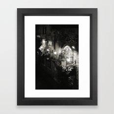 Venetian delights Framed Art Print
