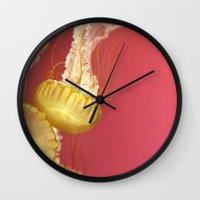 Jelly #4 Wall Clock