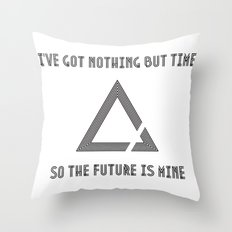 The Future is Mine Throw Pillow