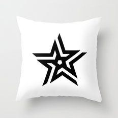 Untitled Star Throw Pillow