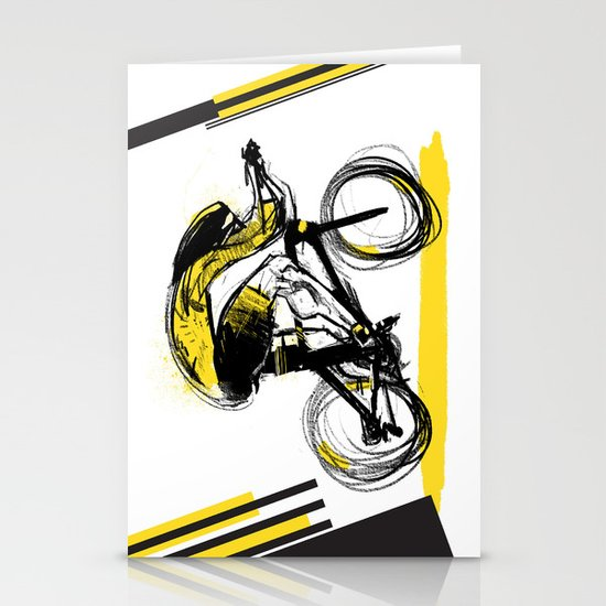 The Time Trial Stationery Card