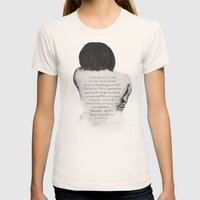 Unanswered Prayers Womens Fitted Tee Natural SMALL