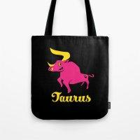 Taurus: the Bull Tote Bag