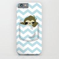 sloth in my pocket iPhone 6 Slim Case
