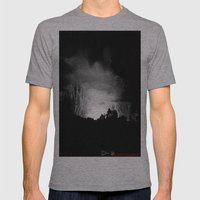 Coming Out Of The Darkness Mens Fitted Tee Athletic Grey SMALL