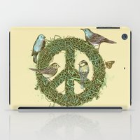 Peace Talks iPad Case