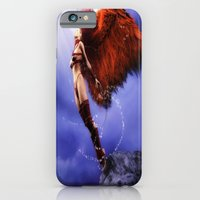 iPhone Cases featuring Ascending by Lady Vamp