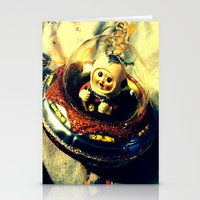 A Flying Saucer Christma… Stationery Cards