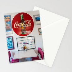 Diner Route 66 Stationery Cards