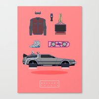 Welcome to 2015 - Back to the future Canvas Print