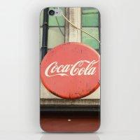 Coca Cola Vintage Sign iPhone & iPod Skin