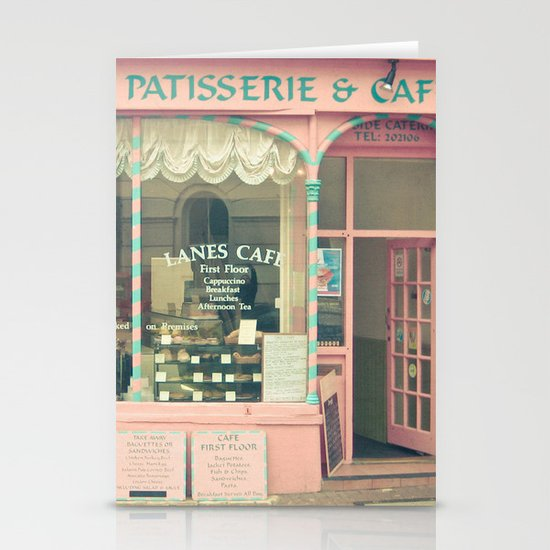 Sweet Cafe Stationery Card