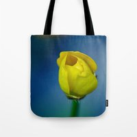 Budding Buttercup  Tote Bag