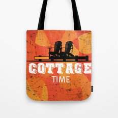 Cottage Time Tote Bag