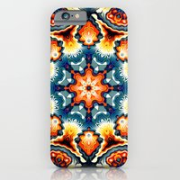 Colorful Concentric Motif iPhone 6 Slim Case
