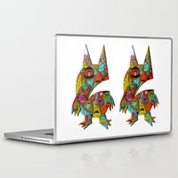 monster Laptop & iPad Skins featuring MONSTER by Tyson Bodnarchuk
