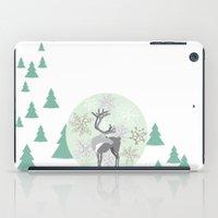 Reindeer Snowglobe iPad Case