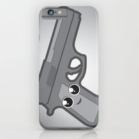 iPhone & iPod Case featuring ViceTales: Gunner by greckler