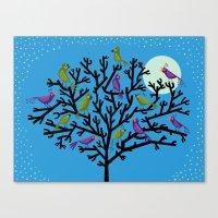 The Night Birds Canvas Print