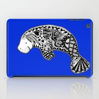 Blue Manatee iPad Case